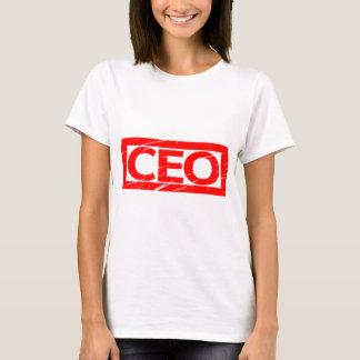 T-shirt Timbre de Président