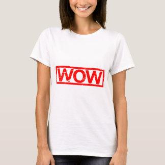 T-shirt Timbre de wow