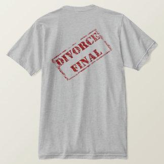 T-shirt Timbre final de divorce