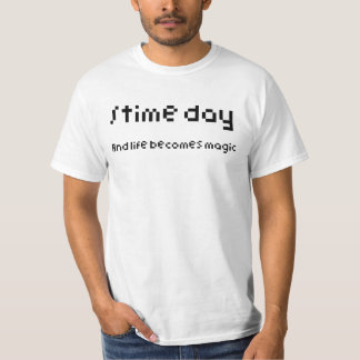 T-shirt Time Day