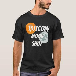 T-shirt Tir de lune de Bitcoin - BTC Blockchain Cyprto