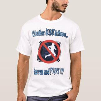 T-shirt Tir-mettez les lanceurs