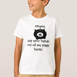 T-shirt tirelire, Obama ! , Obtenez votre distribue de mon