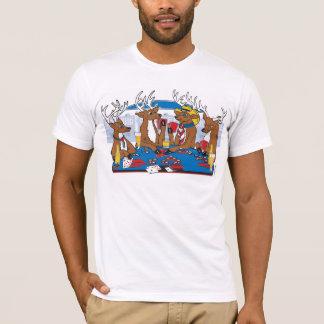 T-shirt Tisonnier d'enterrement de vie de jeune garçon à