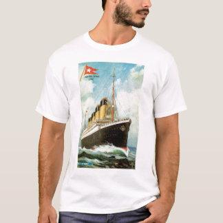 T-shirt Titanic en mer