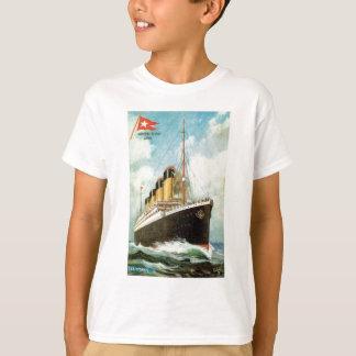 T-shirt Titanic en mer badine T