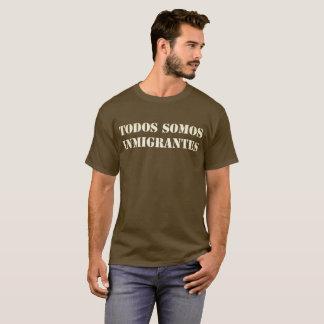 T-shirt Todos Somos Inmigrantes