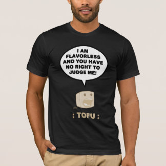 T-shirt Tofu : Chemise fade