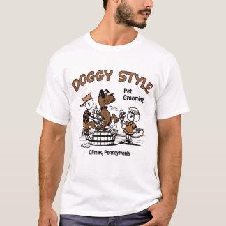 T-shirt Toilettage d'animal familier de style de