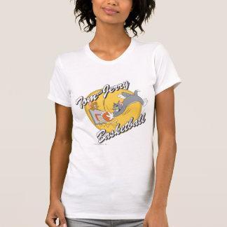 T-shirt Tom et basket-ball 2 de Jerry