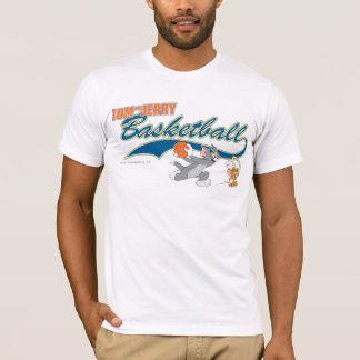 T-shirt Tom et basket-ball 5 de Jerry