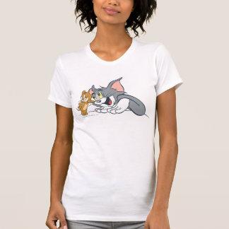 T-shirt Tom et bourgeons de Jerry les meilleurs