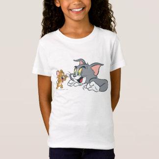 T-Shirt Tom et Jerry font des visages