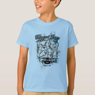 T-shirt Tom et Jerry Hollywood CA
