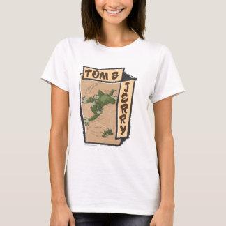 T-shirt Tom et Jerry sur un divan bronzage