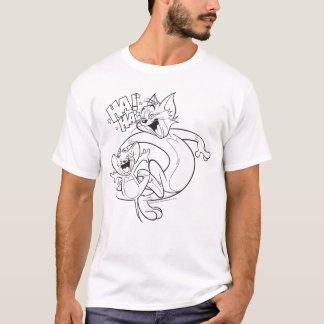 T-shirt Tom et Jerry | Tom et rire de Jerry