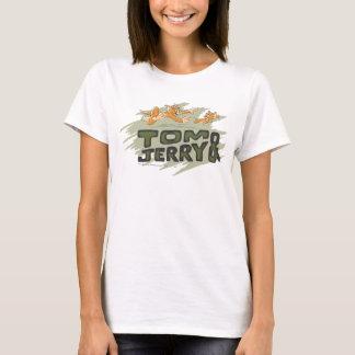 T-shirt Tom et logo de chasse de Jerry