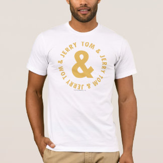 T-shirt Tom et logo rond 4 de Jerry