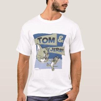 T-shirt Tom et souris de Jerry Scaredey