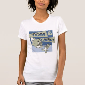 T-shirt Tom et souris de Jerry Scaredey