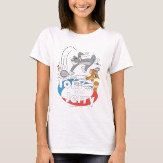 T-shirt Tom et stars du tennis 7 de Jerry