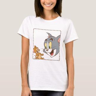 T-shirt Tom et timbre de Jerry