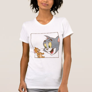 T-shirt Tom et timbre de Jerry