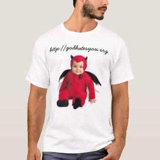 T-shirt tombé de la grâce