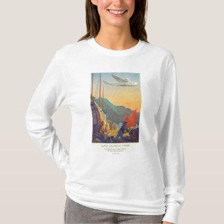 T-shirt Tondeuse Casserole-Américaine volant au-dessus de