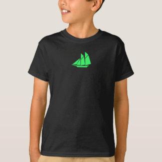T-shirt Tondeuse de Glow_green d'océan