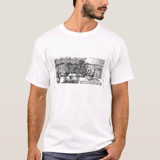 T-shirt Tonnelle étant construite comme nuance contre le