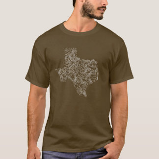 T-shirt Topographie