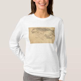 T-shirt Topographie de Los Angeles et de San Bernardino