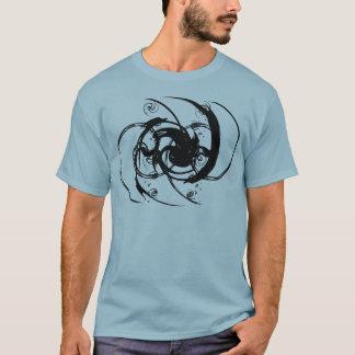 T-shirt Torsion abstraite