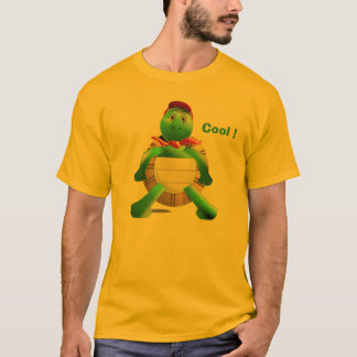 T-shirt tortue, cool !