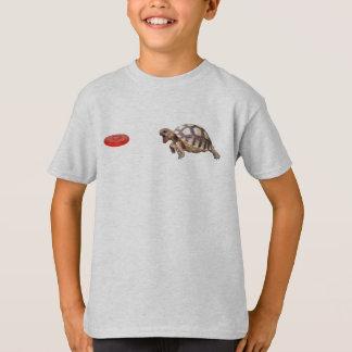 T-shirt Tortue de frisbee