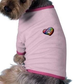 T-shirt total de sonnerie de chienchien de manteau pour chien