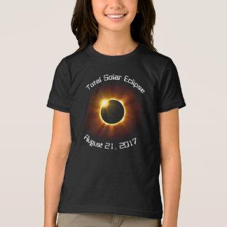 T-shirt total d'éclipse solaire