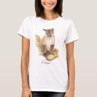 T-shirt Totem d'animal de puma