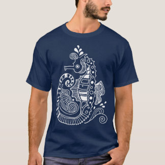 T-shirt Totem d'hippocampe