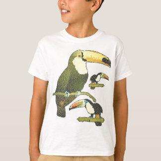 T-shirt Toucan en verre souillé