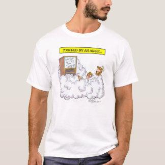 """T-shirt """"Touché par un ange """""""