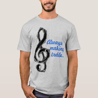 T-shirt Toujours fabrication du triple