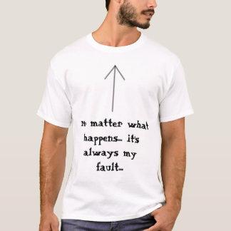 T-shirt Toujours mon défaut