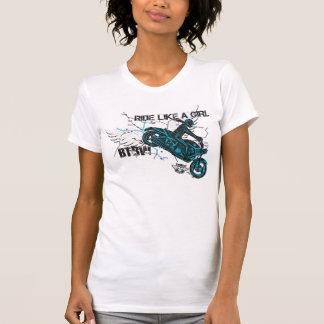 T-shirt Tour comme une fille