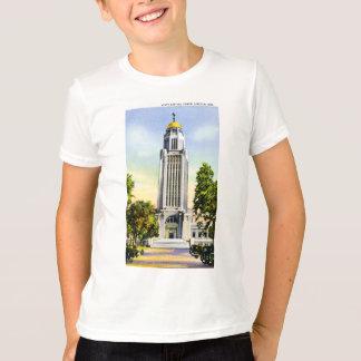 T-shirt Tour de capitol d'état, Lincoln, Nébraska