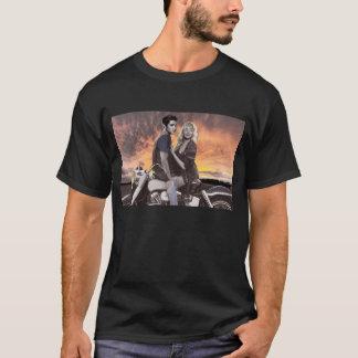 T-shirt Tour de coucher du soleil