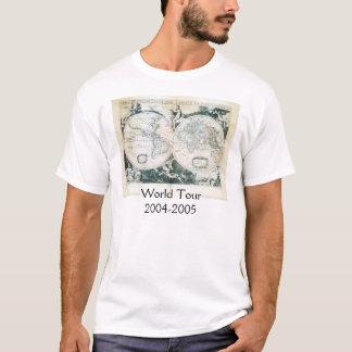 T-shirt Tour du monde 2004-2005 de Julianne
