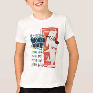 T-shirt Tour du monde d'histoire