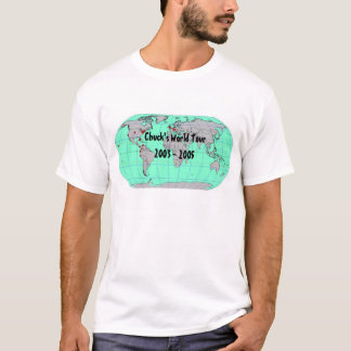 T-shirt Tour du monde du mandrin